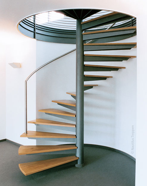 Spindel-Treppe in Leipzig 1